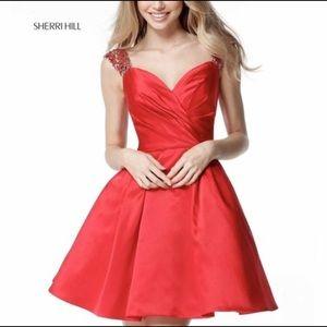 Red Sherri Hill